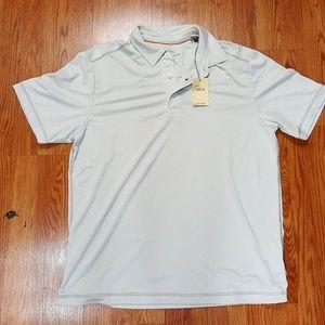 Tommy Bahama Polo Golf Shirt Soft Linen Modal Poly